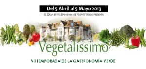 Jornadas gastronómicas VEGETALISSIMO 2013