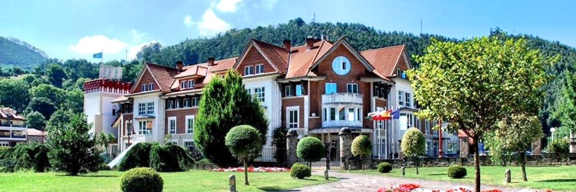 Hotel Balneario Spa Puente Viesgo Cantabria Santander