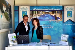 Balneario de Puente Viesgo y Feria del Libro de Madrid