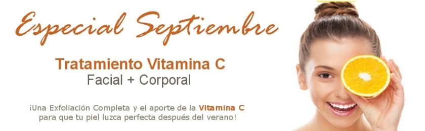Tratamiento de Vitamina C en Hotel Balneario en Cantabria
